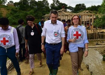 ICRC president says Myanmar not ready for returns