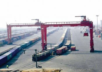 Ywar Thargyi dry port opens to business