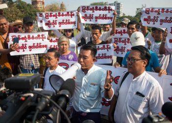 Yangon protest kicks off nationwide campaign against Myitsone Dam