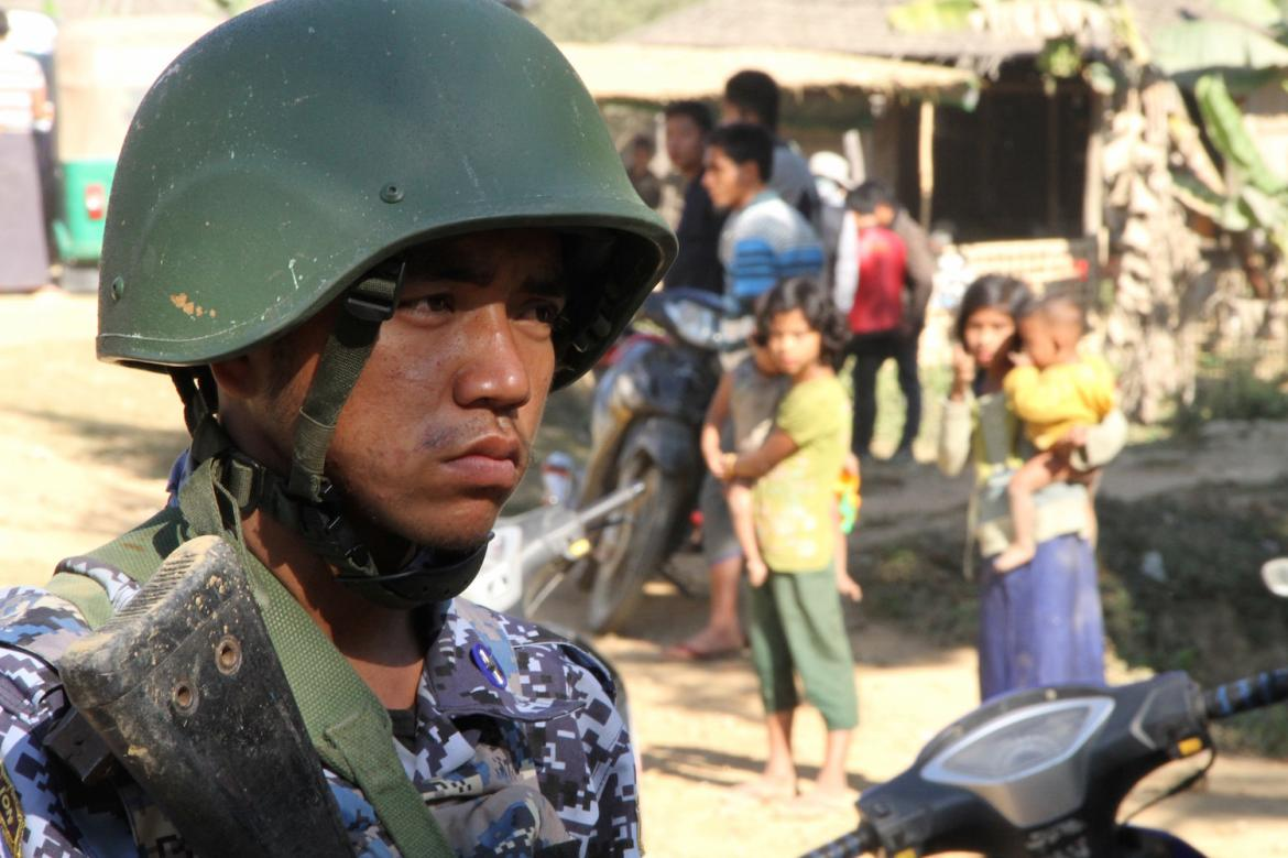 Seven killed in Myanmar monastery shelling