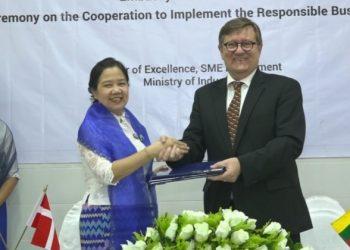 Denmark to Provide K1.13 Billion Loan for Myanmar SMEs