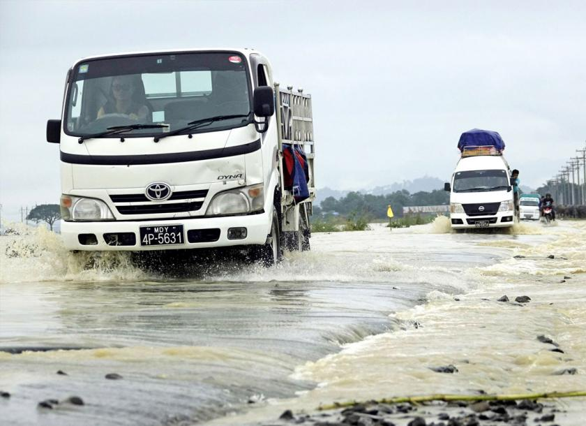 More than 45,000 people affected by first monsoon flood