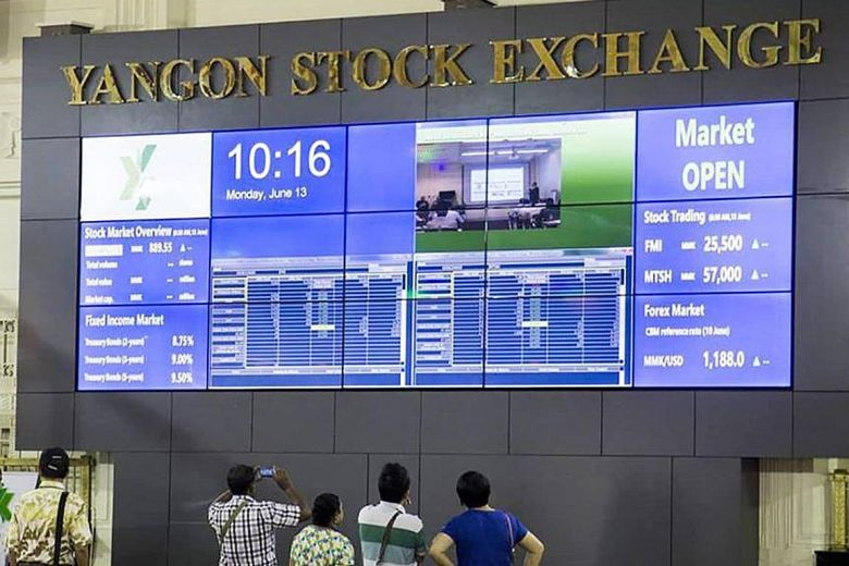 Myanmar to open up Yangon stock exchange to foreign investments