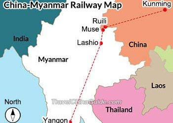 China, Myanmar railway project linking Muse to Mandalay on track